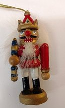 Nutcracker Wooden Ornament (C) - $7.50
