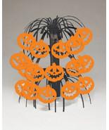 """Pumpkin Mini Cascade Centerpiece Halloween Decor 8.5"""" - $2.03"""