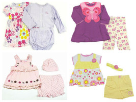 Infant Baby Girl's Outfits Sets Bon Bebe Duck Duck Goose Vitamins Petite Bears