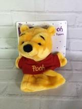 VTG Disney Winnie the Pooh Plush Hand Puppet 90s Pretend Play Mattel Arc... - $24.74