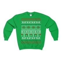 optician ophthalmologist ugly christmas sweatshirt - $29.95+