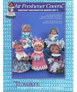 Air Freshener Covers from TD Creations Crochet Decorative Series Set 3 - $5.89