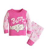"Disney Store Baby Girls Marie - The Aristocats - ""Purrr"" PJ PALS Pajama Set - $17.03"