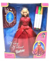 Mattel Very Velvet Barbie with Stickers & Markers - NEW ORIGINAL PACKAGING! - $35.00