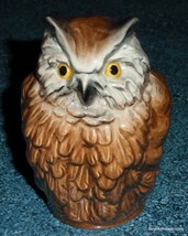 Brown Owl Goebel Bird Figurine Collectible Great Mother's Day Or Birthday Gift! - $27.15