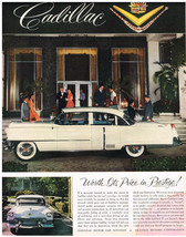 Vintage 1954 Magazine Ad Cadillac Owner Feeling Of Pride Well-being & Confidence - $5.93