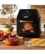 Power Air Fryer Oven All-In-One 6 Quart Plus Dehydrator Grill Rotisserie... - $167.31