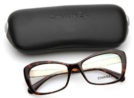 New Chanel 3297-B c.714 Havana Eyeglasses Frame 52-17-135 B37mm Italy - $347.89