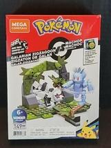 Mega Construx Pokemon Galarian Zigzagoon Vs Machop Building Set  - $11.78