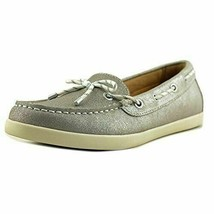 Naturalizer Womens Ginnie Silver Leather  Boat Shoes Size 9.5 NWOB - $46.53