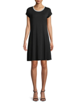 NWT MICHAEL KORS  BLACK FLARE DRESS SIZE XL  $88 - $31.03