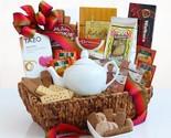 Ultimate Tea Time Delights: Gourmet Tea Gift Basket