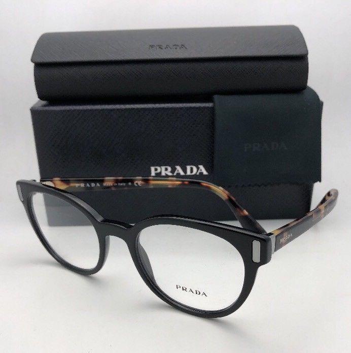 31a67c6d9c5 New PRADA Eyeglasses VPR 06T 1AB-1O1 50-20 and 50 similar items