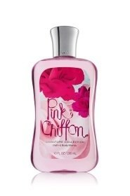 Primary image for Bath & Body Works Pink Chiffon Shower Gel 10 oz Signature Collection