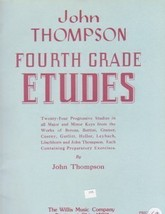 John Thompson's Fourth Grade Etudes - $6.95