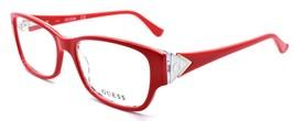GUESS GU2748 066 Women's Eyeglasses Frames 53-16-140 Shiny Red - $65.22
