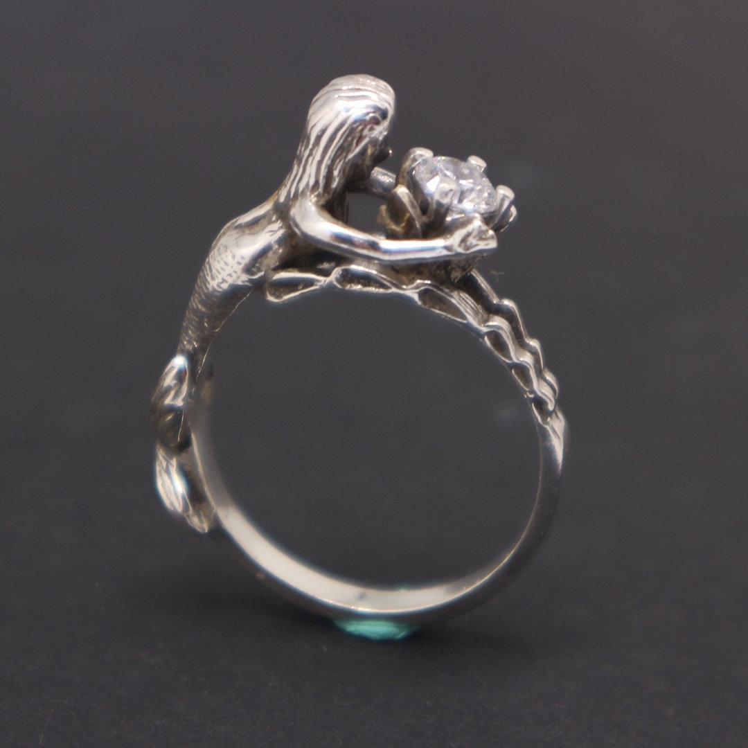 Sterling Silver Mermaid Ring image 2