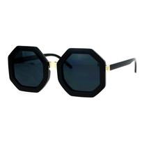 Octagon Shape Sunglasses Womens Unique Oversized Fashion Shades - $10.84+