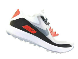 Nike Air Zoom 90 IT Golf Shoes Womans White Black Infrared Grey Max 8445... - $64.06