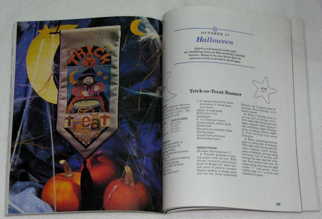 Vanessa Ann's Holidays in Cross Stitch 1994