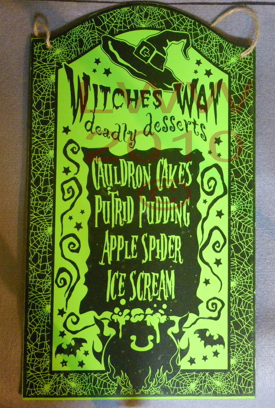 witches way deadly desserts menu halloween and 50 similar items