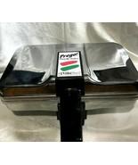 VillaWare Prego Pizzelle Baker Maker 3600 Polished Chrome Plates Cookies  - $79.99