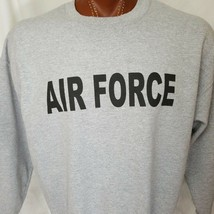 United States Air Force Gray Sweatshirt Cotton Blend XL X-Large - $20.80