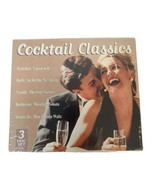 Cocktail Classics 3 DiscSet Pachelbet's Canon, Beethoven's Fifth, The Nu... - $13.63