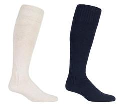 David James -1 paia uomo lunghe ginocchio trekking invernali di lana pesca calze - $7.80