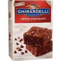 Ghirardelli Triple Chocolate Premium Brownie Mix, 6-count - $21.41