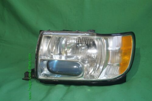01-03 Infiniti QX4 HID Xenon Headlight Head Light Lamp Driver Side LH - POLISHED
