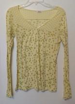Anthropologie SPLENDID Pima Cotton Modal Light Long Sleeve Knit Top Size XS - $19.99