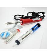 UL 5 pc Iron Soldering Pencil Gun Set Desoldering Electric Welding Solde... - $14.99