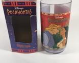 Disney's COLORS OF THE WILD Pocahontas & John Smith Plastic Cup Burger King