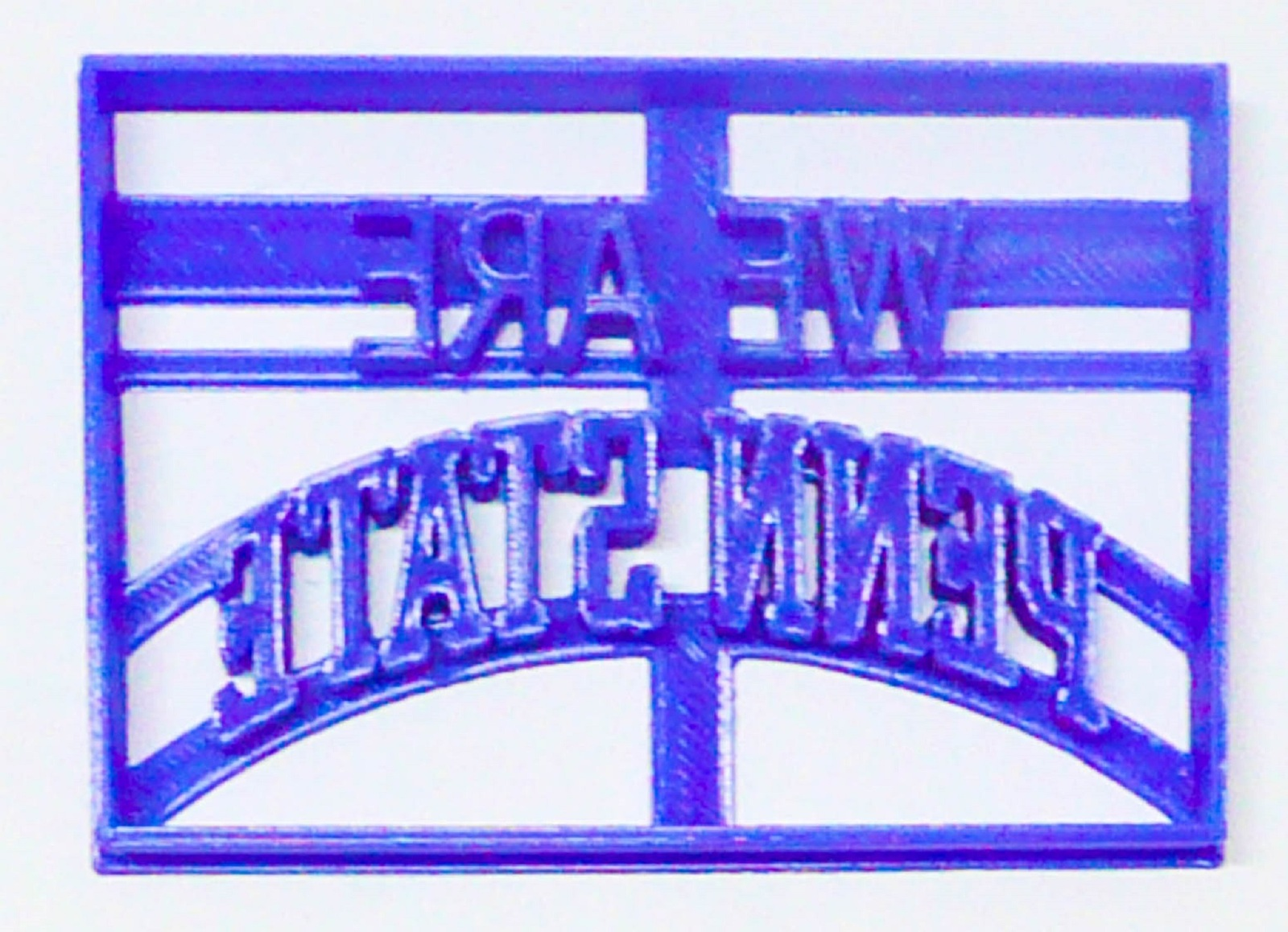 Primary image for We Are Penn State Words School Pride University Sports Cookie Cutter USA PR3268