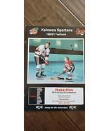 1990-91 Kelowna Spartans Bchl Bcjhl Hockey Yearbooks Ed Birre Flames - $14.99