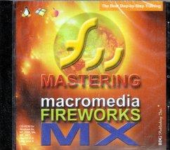Mastering Macromedia Fireworks Mx [Cd] No Operating System - $6.36