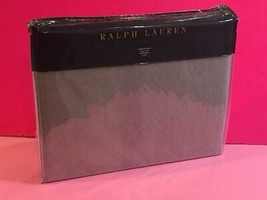 $400 Polo Ralph Lauren Dover Street 100% Wool Grey Gray Throw Blanket 54x72 - $148.49