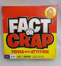 Imagination 2011 Fact Or Crap Trivia With Attitude Card Game Complete - $22.98