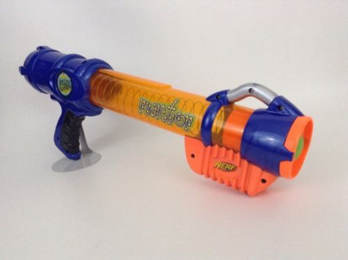 ... Hasbro 2003 Nerf Reactor Atom Blasters Foam Ball Launcher w/ Foam Ball  ...