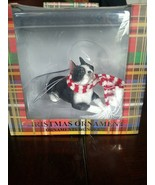 Christmas Ornament Boston Terrier - $29.58