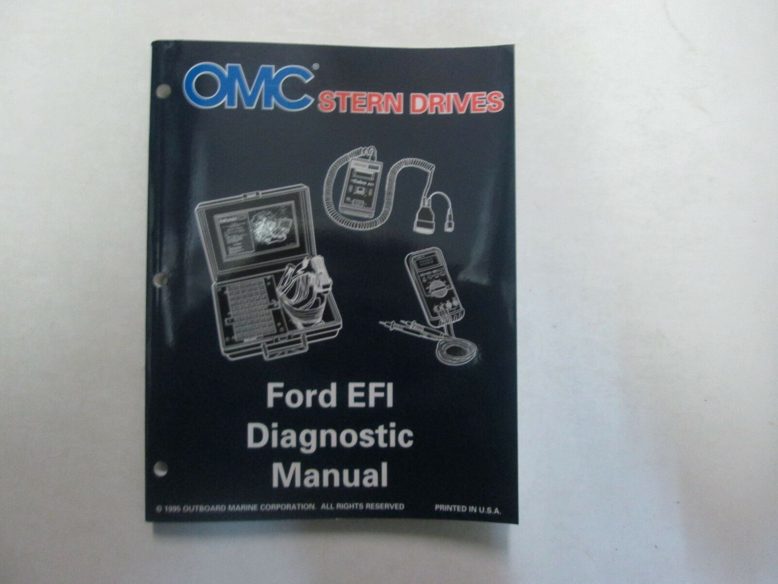 Primary image for 1996 Omc Stern Drives Ford Efi Diagnose Service Reparatur Manuell Fabrik OEM ***