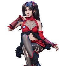 Fate Grand Order Tohsaka Rin Queen Ver. Cosplay Costume Outfit with Wig - $105.63