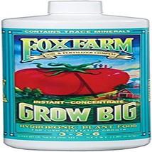 FoxFarm 790218 Fox Farm FX14010 1-Quart Grow Big Hydroponic Liquid Conce... - $37.03