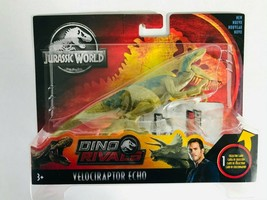 JURASSIC WORLD Dino Rivals VELOCIRAPTOR ECHO Action Figure Attack Pack   - $13.36
