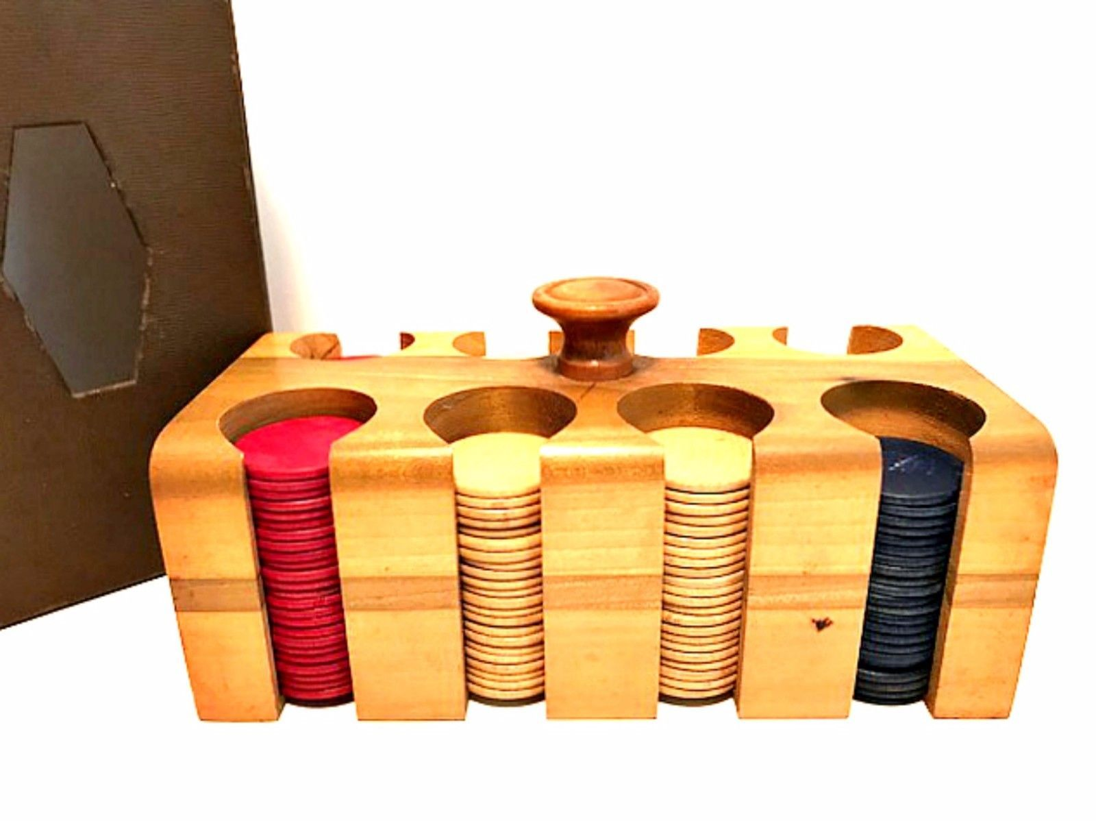 Wooden poker chip caddy direct poker saison 5