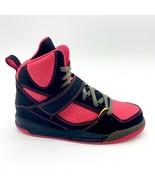 Jordan Girls Jordan Flight 45 High PS Black Laser Orange 524863 026 Snea... - $67.95