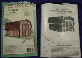 Storage Barn Pattern  - $3.33
