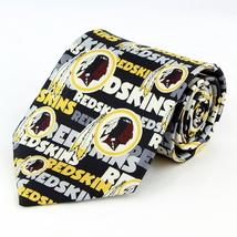 Washington Redskins Mens Silk Necktie NFL Football Logo Neck Tie Sports ... - $32.95