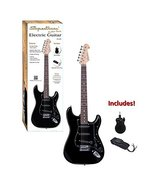 Ashley Entertainment 5 String Solid-Body Electric Guitar, Black, Full Si... - $98.58